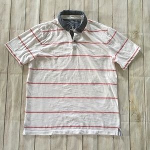 Banana Republic   Striped Vintage Polo Shirt